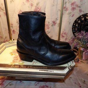 Durango Women's Western black ankle boot
